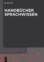 Handbücher Sprachwissen
